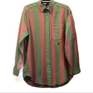 VTG Tommy Hilfiger lion logo long sleeve shirt S